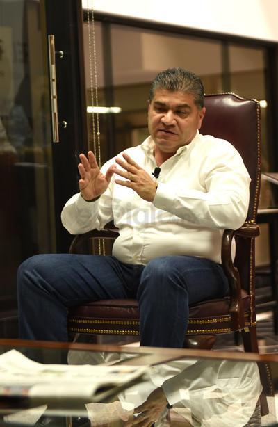 Señaló estar en desacuerdo con la propuesta de crear un Estado de La Laguna, e indicó que trabajará por mejorar la conectividad en todas las regiones de Coahuila.