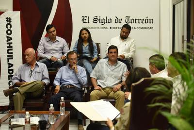 Se contó con la participación de los mismos seis invitados que la jornada anterior realizaron cuestionamientos al candidato Guillermo Anaya Llamas.