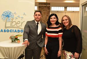 26042017 Aldo Ganem y Gisel Báez.