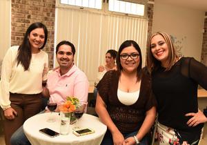 26042017 Claudia Ruiz, Javier Perales, Yemile Huizar e Itzel Alonso.