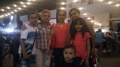 27042017 Emiliano, María Estela, Estela, Karen, Ximena y Santiago.