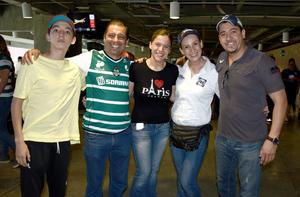 27042017 Isaac, Héctor, Sofía, Astrid y Druzzo.