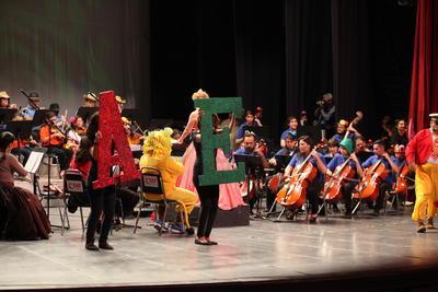 El concierto fue una oportunidad para acercar a los niños duranguenses a la música clásica.