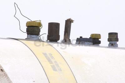 Se tomó la decisión de realizar un esparcimiento de gas controlado, es decir, dejar escapar los más de mil litros tomando todas las medidas de seguridad requeridas, pues no había muchas opciones.