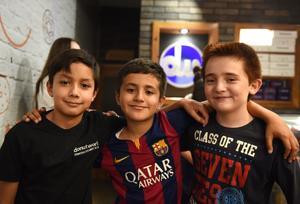 28042017 Arturo Ramírez, Fernando Barraza y Carlos Gabriel Borja.