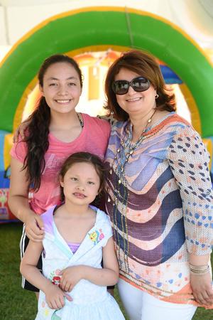 Arantza, Alexis y Adriana