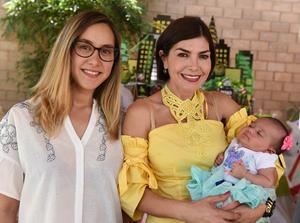 Tres generaciones, Virginia Cruz, Cristina Arellano y Bárbara Mesta