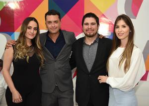 Daniela, Roy, Ernesto y Mayela