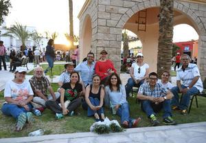 Familias Hunter, Ávalos, Uribe, Herrera y Chapa
