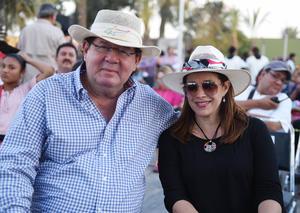 Nicolás y Ana Isabel Papadópulos