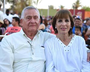 Román y Nena Cepeda