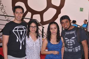 29042017 Rodolfo, Diana, Patricia y Raymundo.