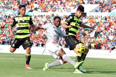 Arrancando el encuentro, un gol que representa oro para Chiapas fue anotado por Luis Leal al minuto 2, esto luego de que tras un sorpresivo contragolpe que no pudo ser frenado por Jorge Flores ni el arquero Jonathan Orozco.