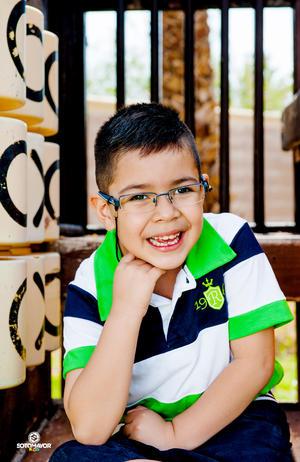 30042017 Juan Alfonso Lozano Pámanes festejando su cumpleaños número 7. Sotomayor kid Fotografía