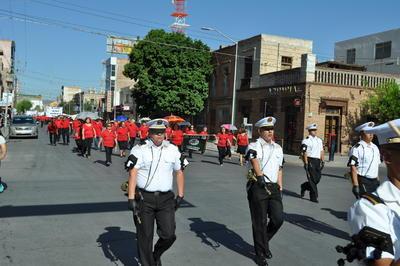 La marcha se realizó por la mañana.