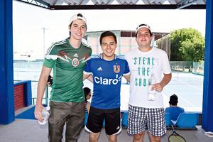 02052017 AMIGOS.  Juan, Alfredo y Gerardo.