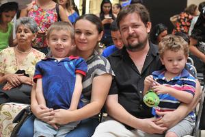 02052017 Donna, Ian, Mario y Ethan.