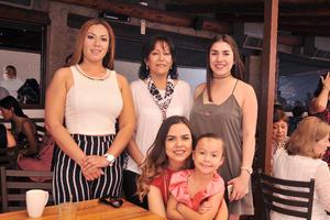 03052017 Nancy, Cristina, Melissa, Marlen y Victoria.