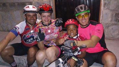 04052017 Gary Pepe Luis con Rubén, Karime y Edgar.