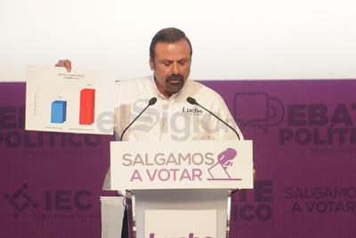 Por su parte, Luis Horacio Salinas 'transparentará los informes de la deuda estatal', buscará 'impulsar los impulsos federales por medio de participaciones a través de empresas y disminuirá en un 70% el gasto de comunicación social'.