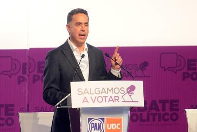 El candidato de la Alianza Ciudadana, Guillermo Anaya, 'ordenará las finanzas del gobierno transparentando los datos de la deuda estatal y castigando a los responsables de ella'.