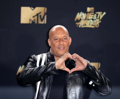 Vin Diesel asistió a la premiación.