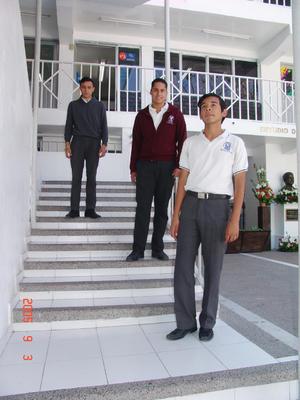 08052017 Fernando, Gael y Gerardo.