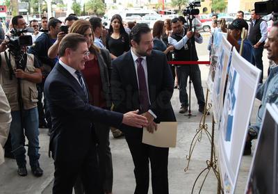 El gobernador Aispuro reiteró el apoyo a los inversionistas para incentivarlos a que se instalen en Durango y agradeció a Altea Desarrollos, empresa que se encargará de la ampliación del centro comercial.