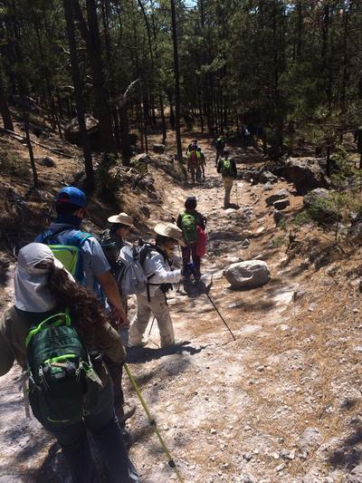 El pasado fin de semana estuvieron en Durango visitantes regiomontanos como parte de una travesía ofrecida por la empresa Bakpak.