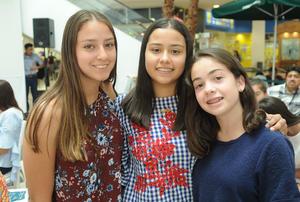 09052017 Alejandra, Maryfer y Anya.