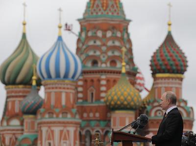 Ofreció un discurso en el que llamó a la unidad internacional.