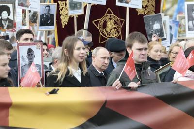 El presidente ruso, Vladímir Putin, presenció el acto.