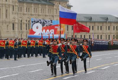 El desfile en la Plaza Roja se celebra siguiendo tradiciones muy arraigadas.