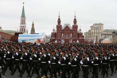 Rusia celebró como cada 9 de mayo, el desfile por el Día de la Victoria.