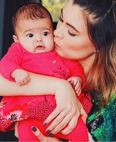 La actriz y modelo Natália Súbtil dio a luz a Mila el 21 de noviembre. Súbtil festejará por primera vez el día de las madres junto a su pequeña producto de su relación con Sergio Mayer Mori.