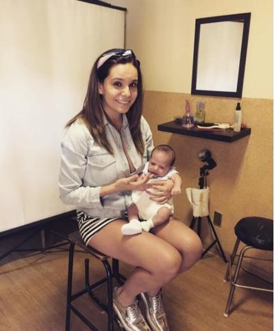 La conductora de Venga la alegría, Tanía Rincón, dio a luz a su bebé Patricio el 16 de febrero, por lo que este 10 de mayo festejará desde temprano el día en su trabajo ya que desde el lunes se incorporó nuevamente al programa.