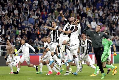 Juventos venció sin problema al Mónaco y se colocó como el primer finalista de la Champions League.