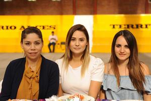 10052017 Paola Garza, Vero Curiel y Cecilia Villalobos.