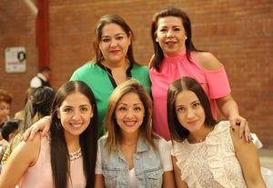 10052017 Tensy del Río, Wendy Castrejón, Daniela Magaña, Claudia Rodríguez y Susy Díaz Couder.