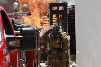 Hasta el momento se desconocen las causas del incendio.