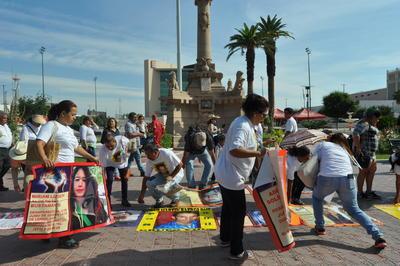 La marcha finalizó en La Plaza Mayor donde se ofreció una misa por los hijos desaparecidos.