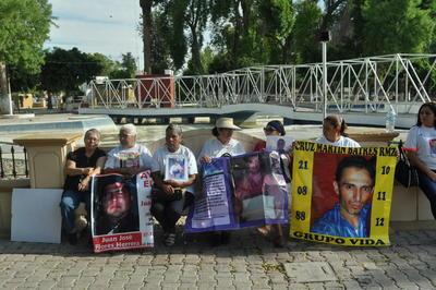 Son integrantes del grupo Víctimas por sus Desaparecidos en Acción (Vida) y Fuerzas Unidas por Nuestros Desaparecidos (Fuundec).