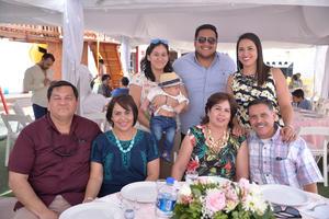 Silvia, Franco, Héctor, Susana, Héctor, María Claudia, Ana y Sergio