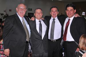Luis, Guillermo, Gabriel y Luis