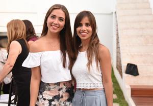 Alejandra y Luz Elena