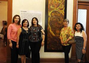 Edna, Sari, Paty, Lupita y Adriana