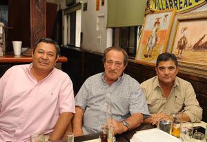 Jorge, Víctor y Rafael
