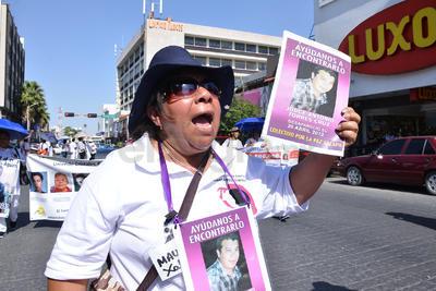 Fueron diversos colectivos los que estuvieron en la manifestación.