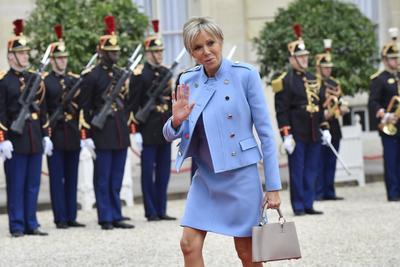 Hasta el Palacio llegó también la nueva primera dama.