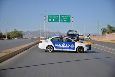 Para tal actividad, cerraron algunos tramos del Sistema Vial Centenario y el bulevar Independencia, contando con el apoyo de tránsito e incluso la Policía Municipal.